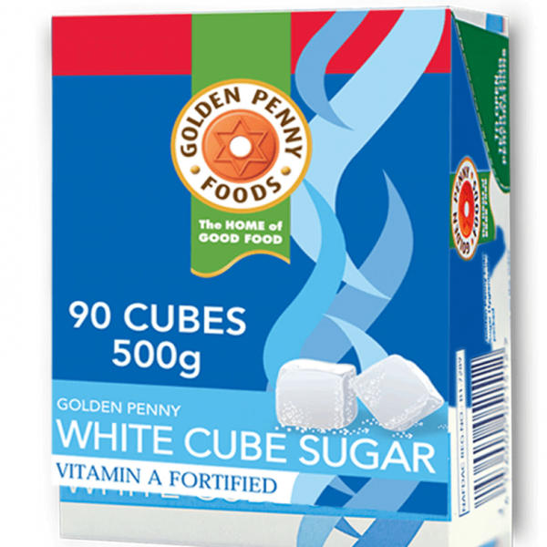 GOLDEN PENNY WHITE CUBE SUGAR 500G X 5packets