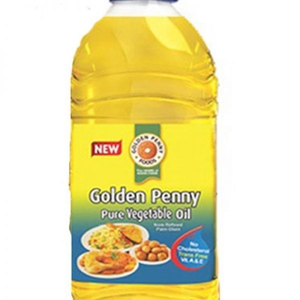 GOLDEN PENNY PURE VEGETABLE OIL 2.75 LITRES