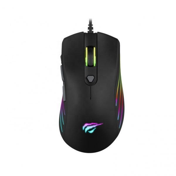 HAVIT MS7 WIRED MOUSE BLACK & YELLOW