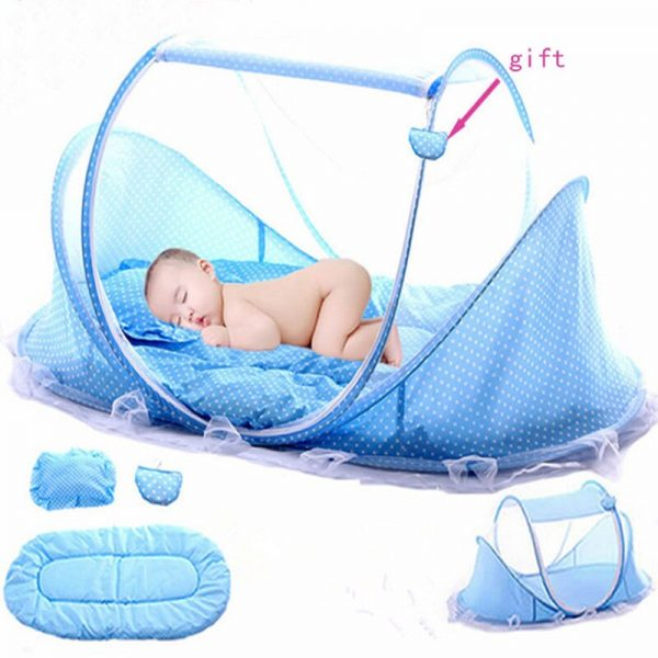 SUNNEC BABY SAFETY MOSQUITO NET+MUSIC