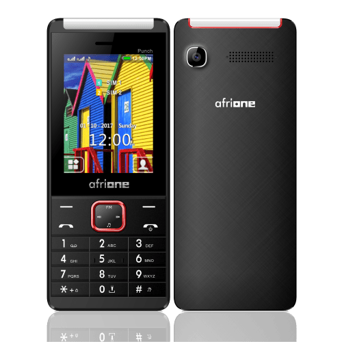 AFRIONE PUNCH PHONE WITH BIG TUBE LIGHT WITH