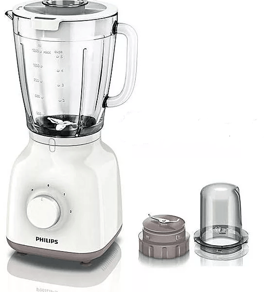 PHILIPS GLASS BLENDER HR2106 WITH CHOPPER