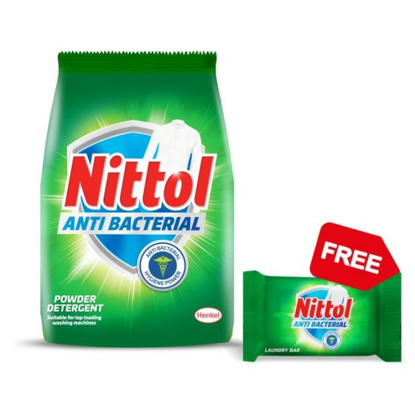 NITTOL A/BACTERIAL DETERGENT POWDER 900G