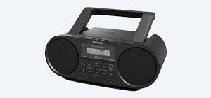 SONY CD WIRELESS BOOMBOX ZS-RS60BT