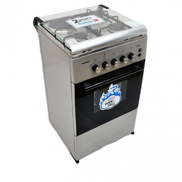 SCANFROST COOKER 5312 3 GAS+1 ELECTRIC