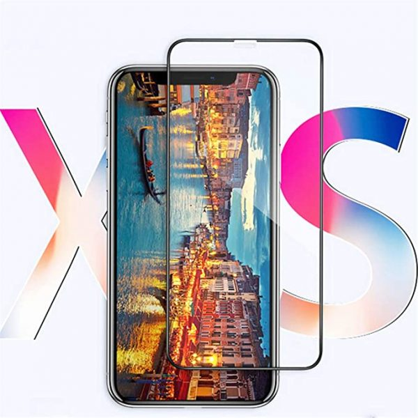 MOBACCS 5D TEMPERED GLASS IPHONE XS MAX