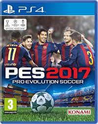 PS4 GAME PES 2017