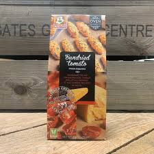 BUITEMAN SUNDRIED TOMATO CHEESE BAGUETTES BISCUITS 75G