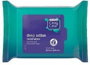 CLEAN&CLEAR FACIAL WIPES 25'S