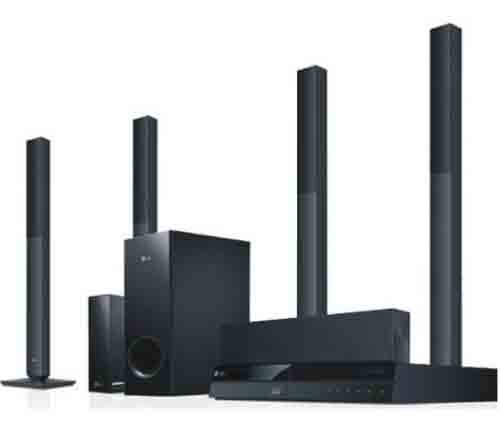 LG HOME THEATRE SYSTEM AUD 6530BH 5.1CH