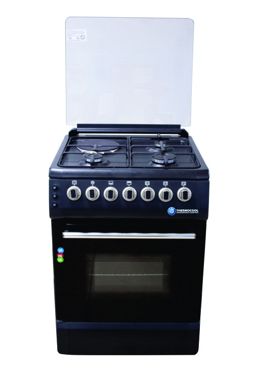 HAIER THERMOCOOL COOKER 3GAS+1ELEC BLACK