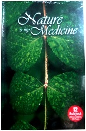 VISTALINE NATURE IS MY MEDICINE NOTE BOOK 12 SUBJECT 500 PAGES HB12S500
