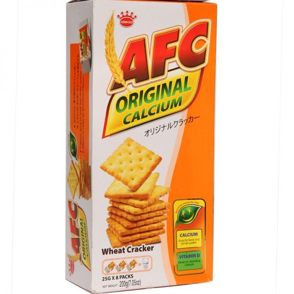 KINH DO AFC WHEAT C/CRACKERS 200G