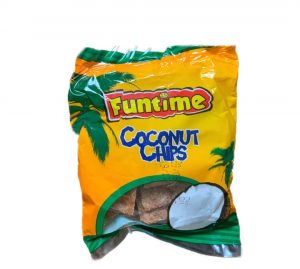 FUNTIME COCONUT CHIPS 35G