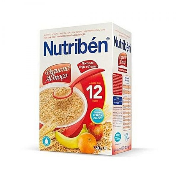 NUTRIBEN INSTANT CEREAL BREAKFAST WHEAT & FRUITS 750G