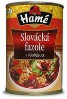 HAME SLOVACKA SAUSAGE WITH BEANS 400G