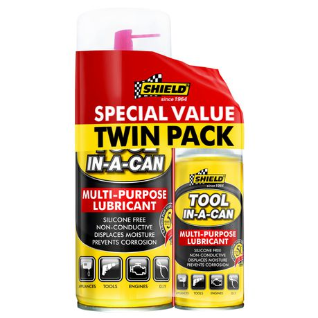 SHIELD MULTI-PURPOSE LUBRICANT SPECIAL VALUE TWIN PACK