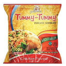 TUMMY-TUMMY INSTANT NOODLES SEAFOOD FLAVOUR WITH EXTRA VEGETABLES 100G